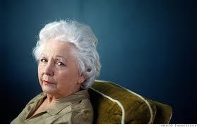 Senior Family Fraud One Elderly Woman