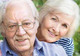 Senior Moments Pic of elderly couple